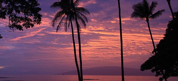 Sunset set fra Lahaina