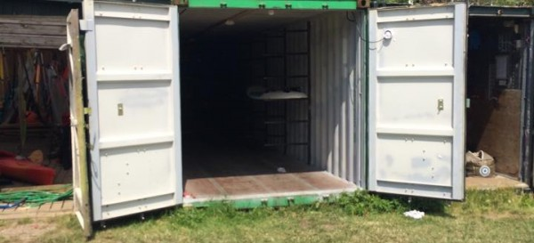 færdig container