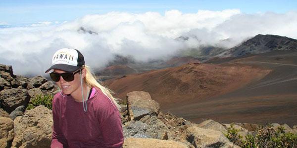 På toppen af Haleakala